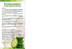 komkommerweetjes